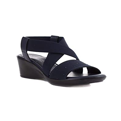 ae78f8bfb Lilley & Skinner Womens Navy Wedge Sandal: Amazon.co.uk: Shoes & Bags