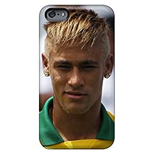Compatible mobile phone carrying covers Protective Cases Attractive iphone 6 - the priceless player of barcelona neymar