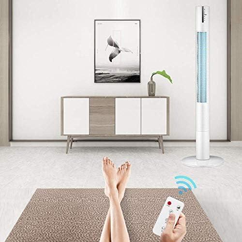 XB-DFSTS Ventilatore A Pavimento Ventilatore A Pavimento, Ventilatore Elettrico per Uso Domestico Ventilatore Senza Ventola, Ventola da Tavolo per Ufficio