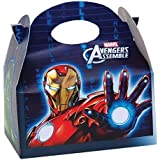 12 x Marvel Avengers Blue Kids Birthday Party Food Gift Boxes