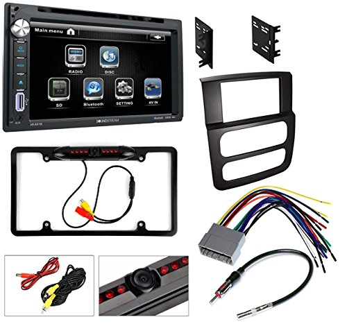 2002/03/04/05 Dodge Ram Bluetooth System CD/DVD/USB/AUX Car Stereo Radio with Nightvision - Bluetooth Stereo Dodge Car Ram