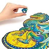 Unidragon Wooden Jigsaw Puzzles - Unique Shape