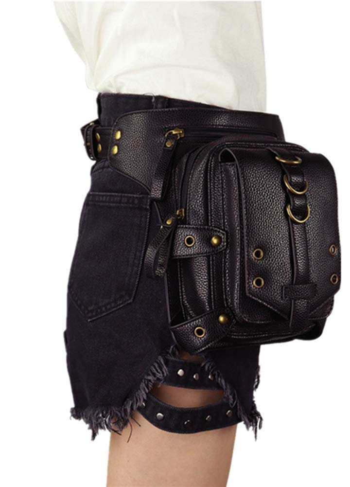Punk family Damen Fashion Persönlichkeit New Sport Handy Tasche