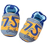 Goldore Warm Baby Boys Girls Shoes Infant Toddler Soft Sole Cotton Slip-on Elastic Heel First Walkers Shoes 0-18M