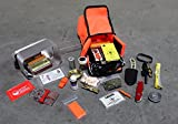 ESEE - Large Tin Survival Kit and Pouch - Orange