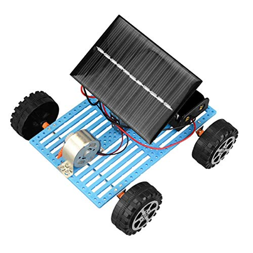 (Children Toys Dartphew 1Pcs [ Educational Solar Car - Powered by The Sun+Battery Double Power Solar Powered Toys for Kids Baby Boys Girls - Learning by Doing (Size:116x123MM))