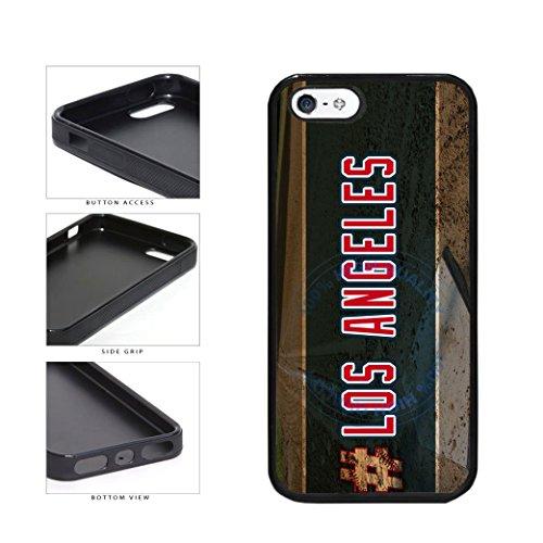 BleuReign(TM) Hashtag Los Angeles #LosAngeles Anaheim Baseball Team TPU RUBBER SILICONE Phone Case Back Cover For Apple iPhone 5 ()