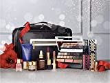 Estee Lauder Blockbuster Holiday Make Up Gift Set w/Train Case - Smoky Noir