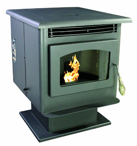 Stoves Multi Fuel Pellet - US Stove 5040 Pellet Stove, Small