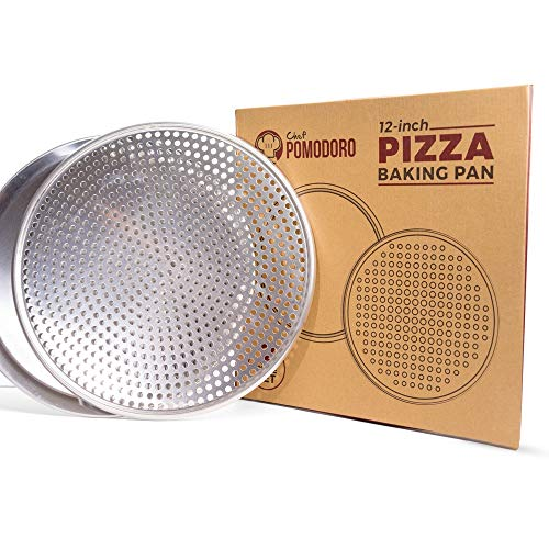 Chef Pomodoro Pizza Pan Bundle: 12