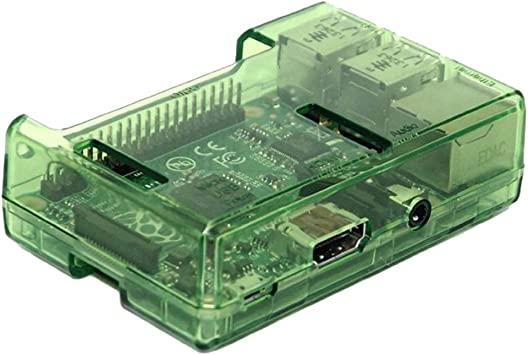 Support GPIO 40pin Cable Lead-Out with Excellent Heat Dissipation Clear Cover Case for Raspberry Pi 2B 3B 3B
