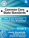 Fifth Grade Common Core Workbook: Math Activities, CoreCommonStandards.com, 1499232691