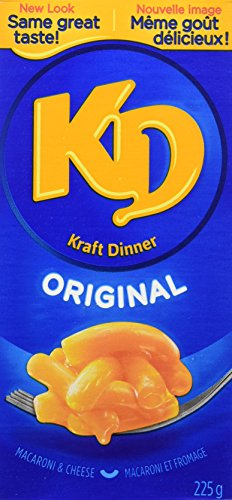 KD Kraft Dinner Original Macaroni and Cheese, 900g/31.74 Ounces {Imported from Canada} (Kraft Dinner From Canada)