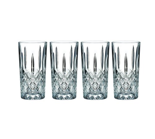Marquis by Waterford 165119 Markham Hiball Collins Glasses, Set of - China Old Fashioned Glass