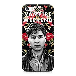 Vampire Weekend Floral Hard Plastic Snap-On Case Cover For iPhone 5 and iPhone 5s