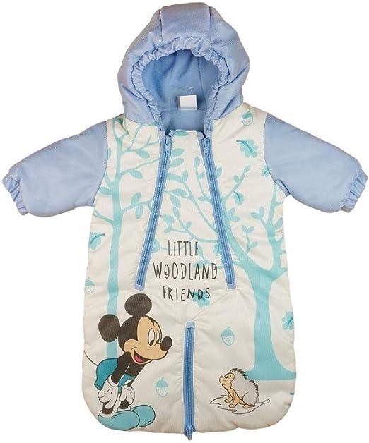 Schneeoverall Gr/ö/ße 56 62 68 74 Schnee-Anzug Anorak Auto-KOMPATIBEL Disney Minnie Mouse Baby Fu/ß-Sack Kinderwagen-Sack Winter-Overall Wind