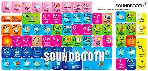 New Adobe SOUNDBOOTH Keyboard Decals Shortcuts