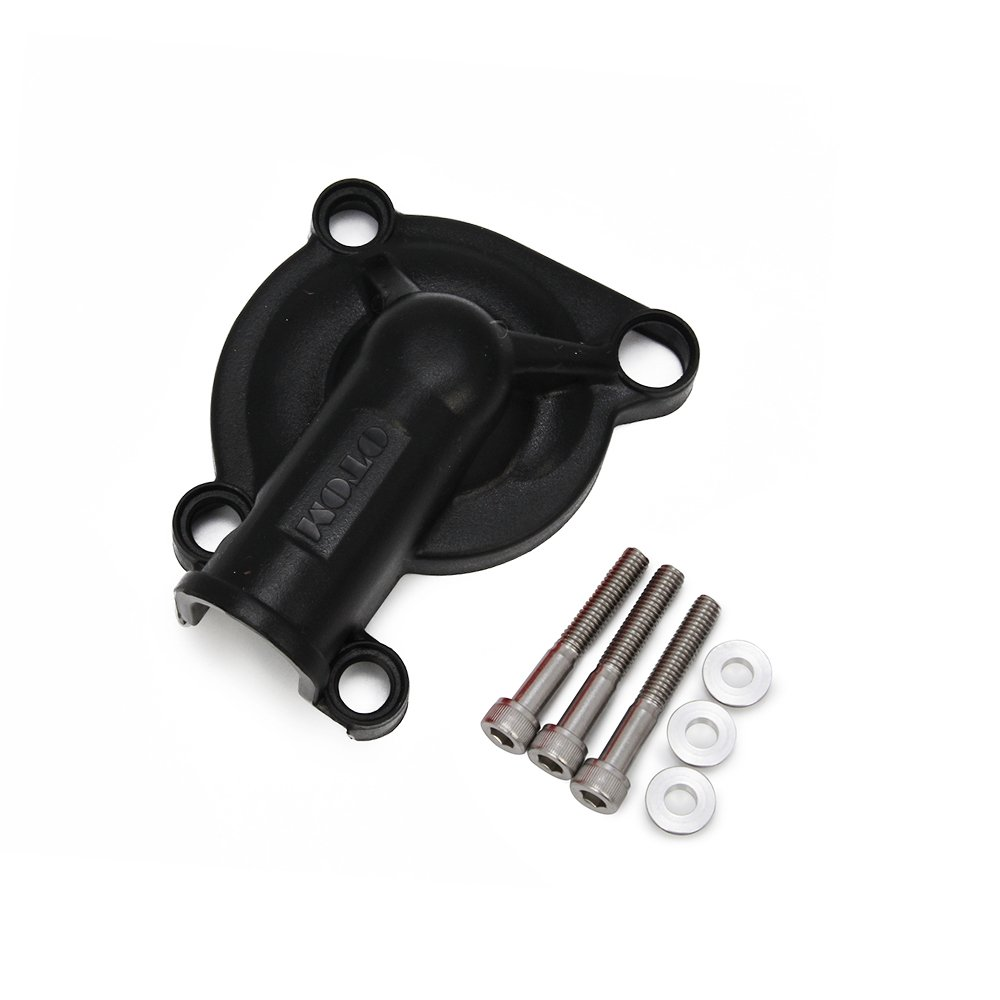 Black ABS Engine Stator Coil Water Pump Clutch Guards Covers Protectors For ZONGSHEN NC250 JFGRACING