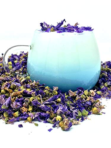 Organic Blue Mallow Flowers - fantastically magical and also a smoothing herbal tea (Tea Magical)