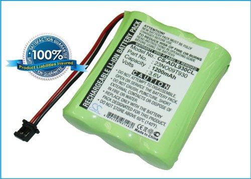 Power2tek BATTERY 3.6V For Audioline CT-COM157, T345, CDL931, Flair DA, MBO Alpha +FREE Power Bank (2600mAh)
