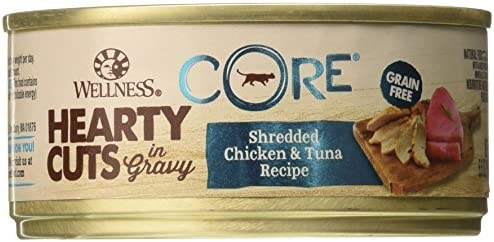 Wellness 5.5 Oz Natural Canned Grain Free Chicken Tuna Wet Cat Food 24 Pack , One Size