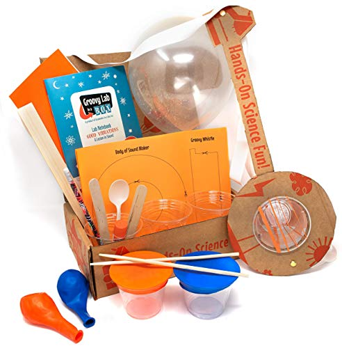 Good Vibrations - A Lesson in Sound   STEM STEAM Box Kit for Kids Ages 8+