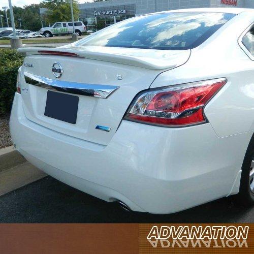 For 13-15 Nissan Altima Sedan Flush Mount Tail Rear Spoiler Wing Primer Unpainted