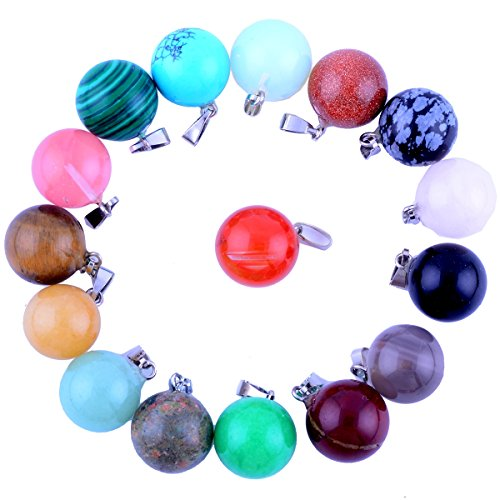 Assorted Handmade Crystal Healing Necklace