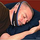 SnoreDoc Adjustable Anti-Snoring Chin Strap - Instant Stop Snoring Solution - The Natural Snore Relief - Fast, Simple and Natural [UPGRADED AND IMPROVED VERSION]