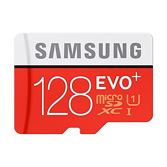 128GB Samsung Evo Plus Micro SDXC Class 10 UHS-1 128G Memory Card for Samsung Galaxy Note 8, S8, S8+ Plus, S7, S7 Edge… 3 Bundle includes (1) 128GB Samsung Evo Micro SDXC Card and (1) Everything But Stromboli Micro Card Reader Works with Samsung Galaxy Note 8, S8, S8+ Plus, S7, S7 Edge, S5 Active Cell Phones Up to 100MB/s transfer speed
