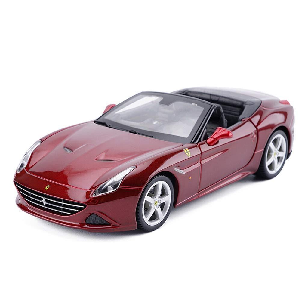 SXET-Modellauto Modellauto-Legierung Automodell 1:24 Ferrari California Sportwagen-Modell Kinder Spielzeugauto Sammlung Modell