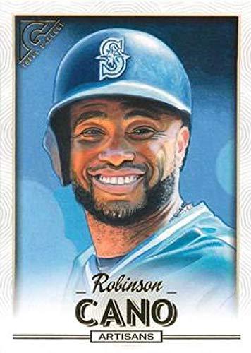 2018 Topps Gallery #199 Robinson Cano Mariners MLB Baseball Card (SP - Short Print) NM-MT