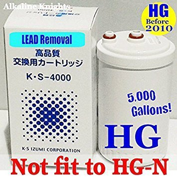 Japan Made Genuine Premium Grade Compatible Filter for MW-7000HG Replacement Filter for Enagic Kangen SD501HG - ''HG'' Original Model(Not Compatible with HG-N Models) by Kuraray chemical Japan