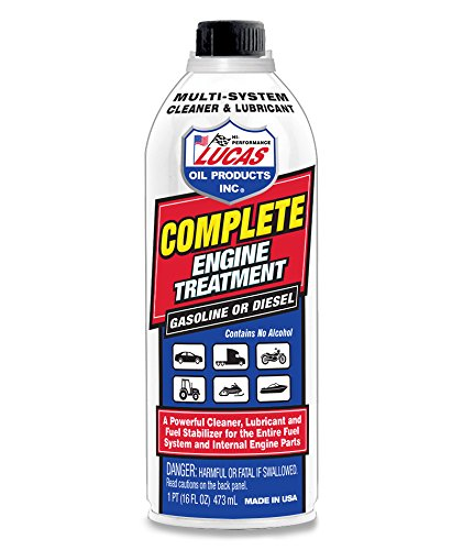Lucas Oil Products LUC10016 Complete Engine Treatment, 16 fl. oz, 1 Pack
