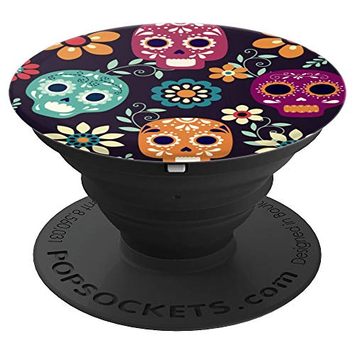 Mexican Sugar Skulls - PopSockets Grip and Stand for Phones and Tablets