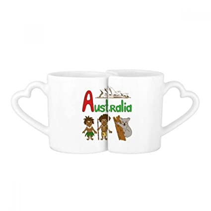 Amazon Australia National Symbol Landmark Pattern Love Couple