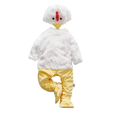 a1b48dee353 Baby Christmas Costumes Infant Hooded Romper Animal Onesie Winter Outfits  Unisex (Height 23-