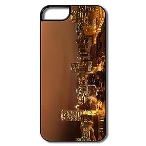Nice Night Reflections Hard Case For IPhone 5/5s wangjiang maoyi by lolosakes