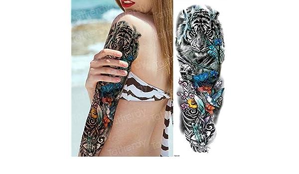 3pcs Tatuaje japonés Geisha Tatuaje Manga Tatuaje Pegatinas 3pcs ...
