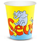 BirthdayExpress Dr Seuss Party Supplies - 9 oz. Paper Cups (8)