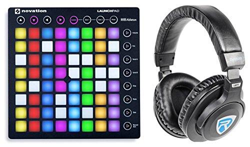 Novation LAUNCHPAD S MK2 MKII MIDI USB RGB Controller Pad + Headphones
