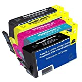 Remanufactured Ink Cartridge Replacement for HP 564XL combo pack-1 Black/1 Photo Black/1 Cyan/ 1 Magenta/1 Yellow, Office Central