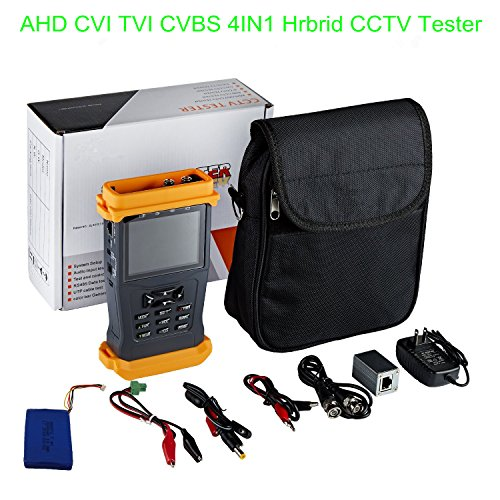 Cctv Tester Video Monitor Tester for AHD CVI TVI CVBS Cameras 3.5