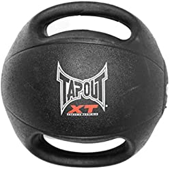 Tapout XT Medicine Ball 6 Lb Weighted Fitness Ball/Exercise Ball/Workout Ball