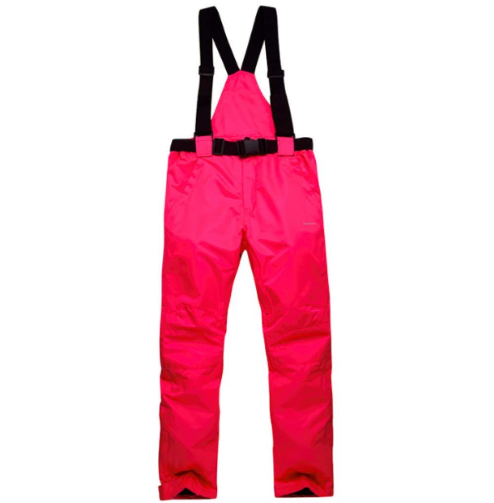 Mitef Adulti Pantaloni da Sci Caldo Imbottito Antivento Pantaloni da Snowboard, Impermeabile e Taglie