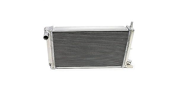 Carrera Doble Núcleo de aleación de aluminio radiador de refrigeración del motor RAD: Amazon.es: Coche y moto