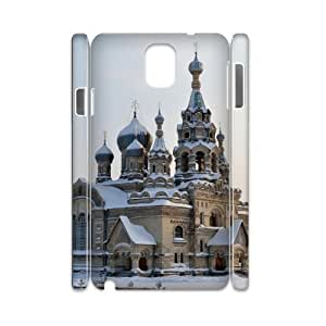 Samsung galaxy note 3 N9000 Building 3D Art Print Design Phone Back Case DIY Hard Shell Protection TY117010