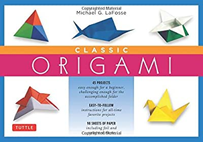 Classic Origami Kit: [Origami Kit with Book, 98 Papers, 45 Projects]