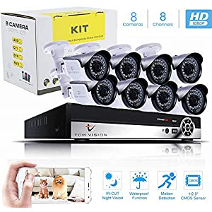8 Channel AHD CCTV Kit 1080P/2.0MP 1920X1080