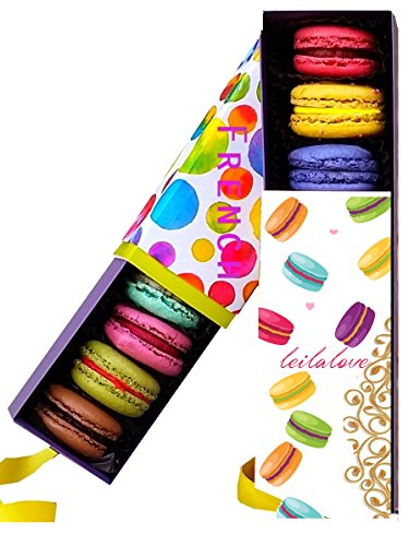Macarons 4 Quantities, 4 Signature Flavors Baked to Order - we already gift wraped it for you - Box may vary